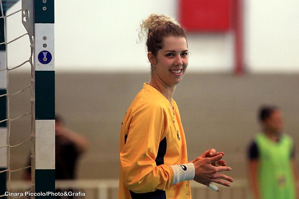 Babi, goleira da Seleção Brasileira. (foto arquivo Cinara Piccolo/Photo&Grafia)
