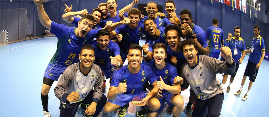 Seleção Brasileira encerra participação no 7º Campeonato Mundial Juvenil Masculino de Handebol