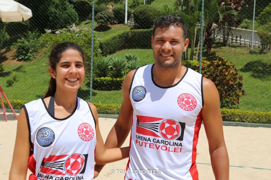 Betinha e Marx (Arena Carolina), 3º lugar Misto. (foto André Pereira / Tchê Esportes)