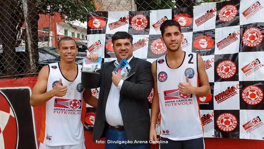 Felipe e Lucas. (foto Andréa Rodrigues / Tchê Esportes)
