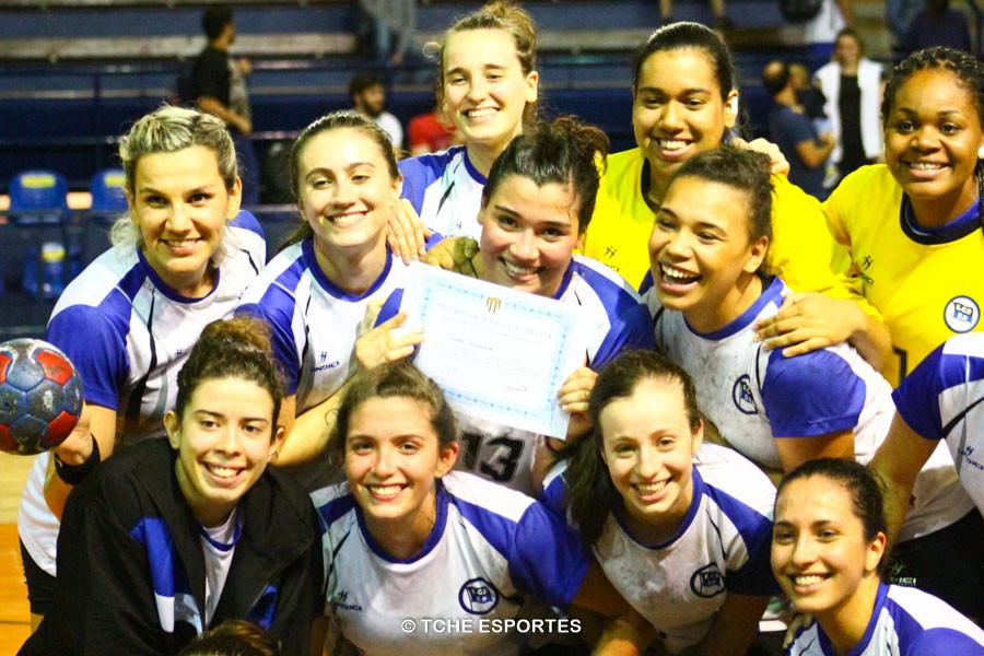Destaque da Partida e artilheira: Giulia Guariero, Pinheiros, com 5 gols. Foto: Marcio Rodrigues / Tchê Esportes