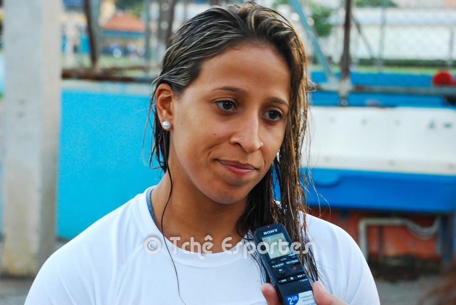 Tamires, CEPE/Santos,