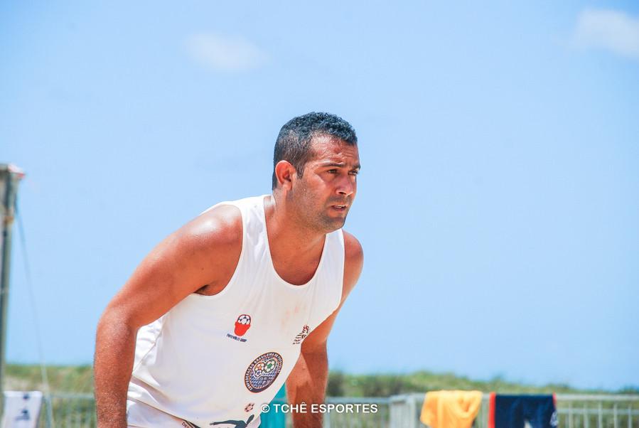 Adailton, campeão categoria amador. (foto André Pereira / Tchê Esportes)