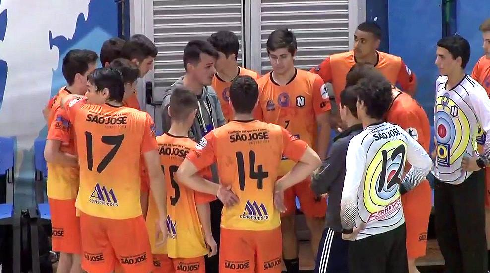 Equipe do Nacional HC (SC). (foto reprodução CBHb)