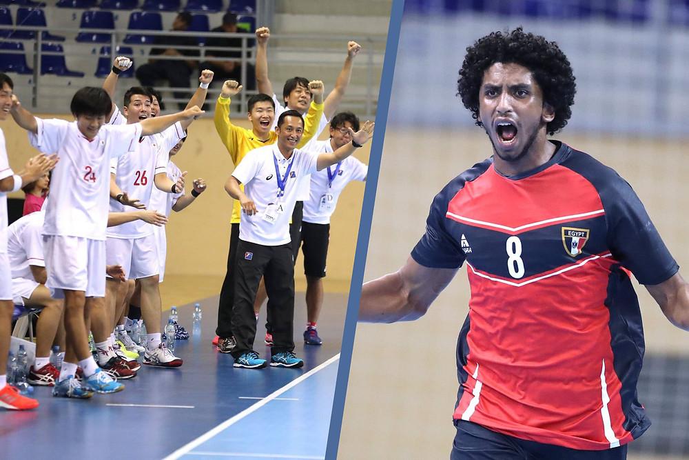 Japão vs Egito. Quem avança? (foto divulgação IHF)