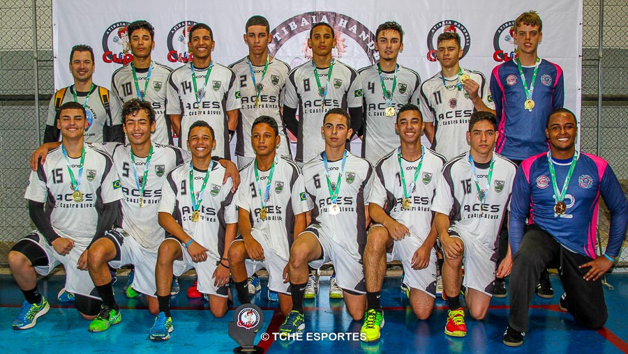 Campeão JUVENIL / Colégio Castro Alves. (foto André Pereira / Tchê Esportes)