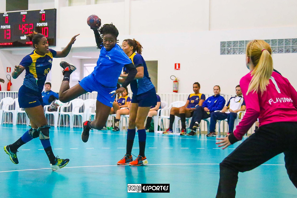 Seleção Feminina de Handebol de Camarões faz amistosos em São Paulo.  (foto arquivo Tchê Esportes)