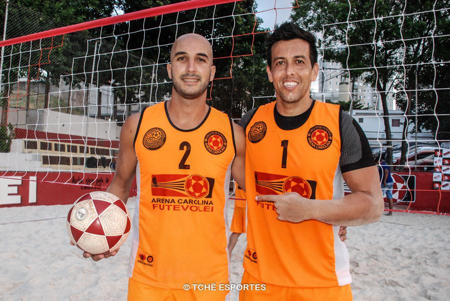 Devlin e R. Malla, campeões da 2ª etapa. (foto Andréa Rodrigues / Tchê Esportes)