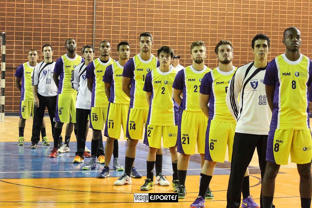 Equipe de Franca em 2015. (foto arquivo Tchê Esportes)