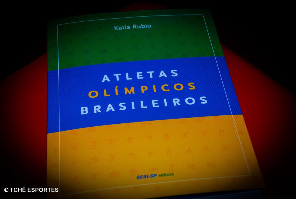 "Livro ""Atletas Olímpicos Brasileiros"""