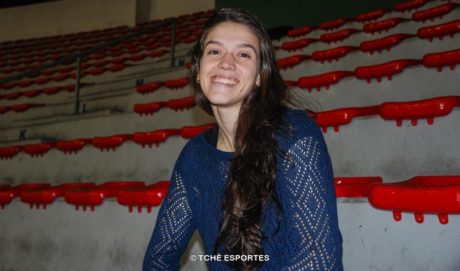 Juliana Lima, do EC Pinheiros. (foto Anderson Rodrigues/ Tchê Esportes)