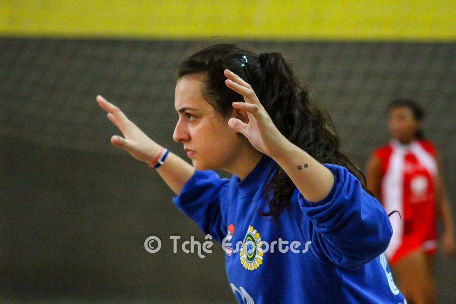 Natália Pinto, goleira de Osasco. (foto André Pereira / Tchê Esportes)