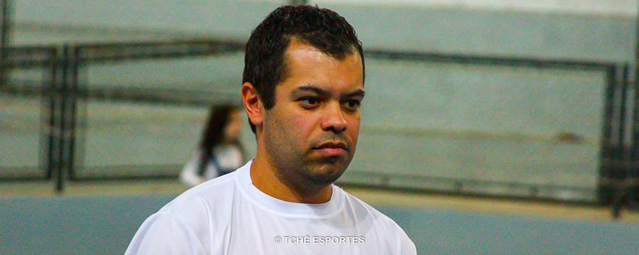 Valter Costa, um dos organizador do evento. (foto André Pereira / Tchê Esportes)