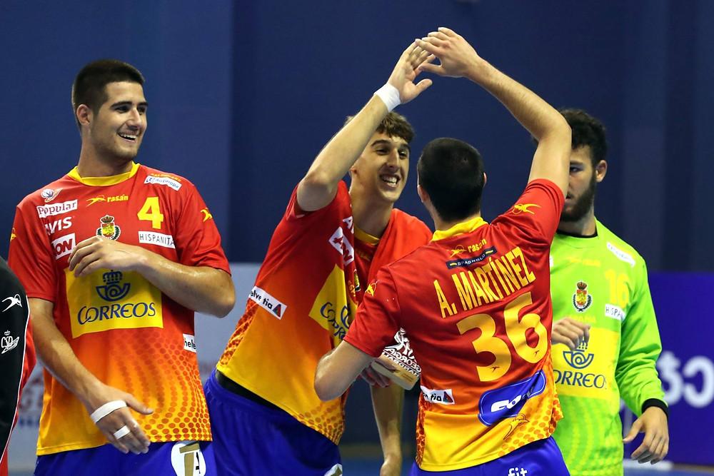 Espanha é favorita do confronto. (foto divulgação IHF)