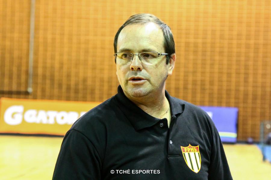 Rogério Fiacadori, delegado da FPHb. (foto André Pereira / Tchê Esportes)