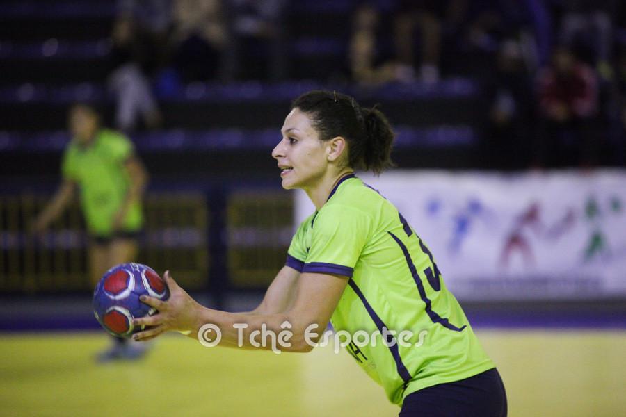 Ramona Oliveira, Guarulhos, artilheira com 6 gols. (foto André Pereira / Tchê Esportes)