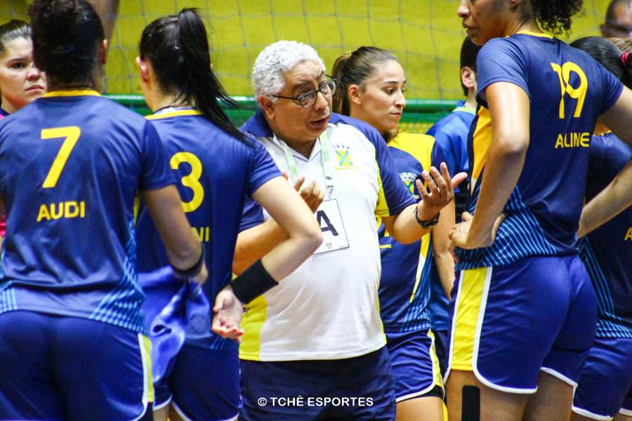 Rubens Piazza, técnico do Santo André. (foto André Pereira /Tchê Esportes)