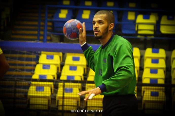 Alan Santos, Hebraica. (foto arquivo Tchê Esportes)