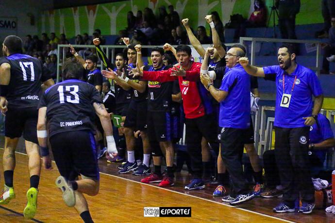 São Caetano vs Pinheiros (arte Tchê Esportes)