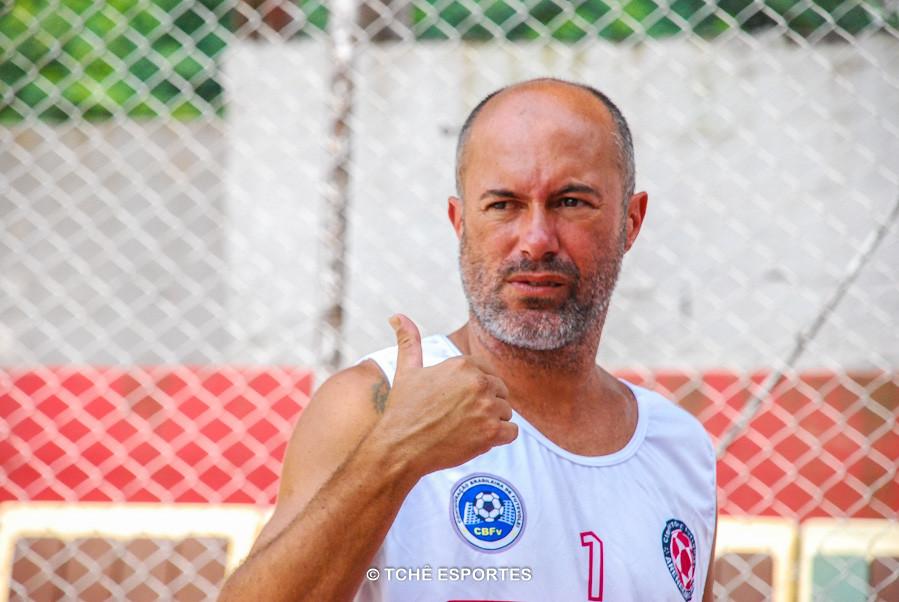 Cesar Guimarães, organizador do evento. (foto André Pereira / Tchê Esportes)