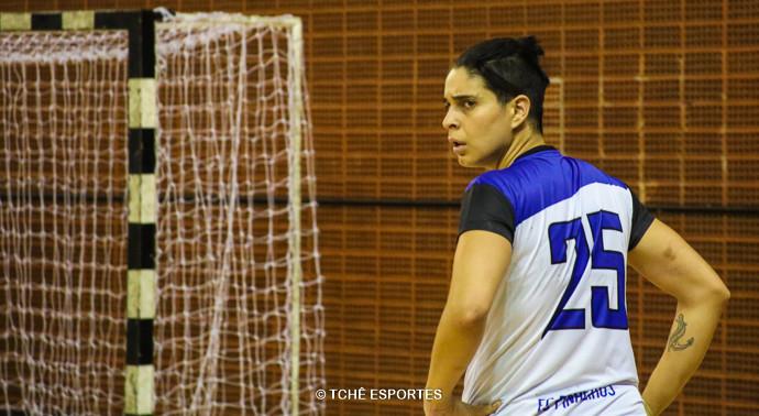 Dani Jóia, reforço do Pinheiros. (foto André Pereira / Tchê Esportes)