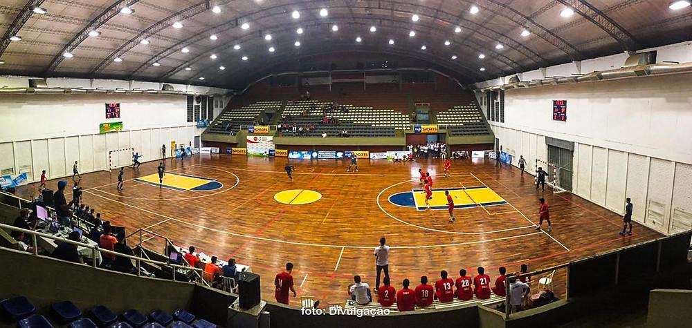Ginásio da Secretaria Nacional de Desportos, Assução, Paraguai (foto Divulgação)