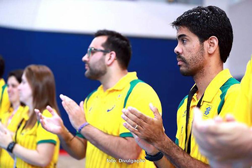 Cristiano Rocha, auxiliar técnico da seleção brasileira adulta. (foto divulgação CBHb / Photo&Grafia)