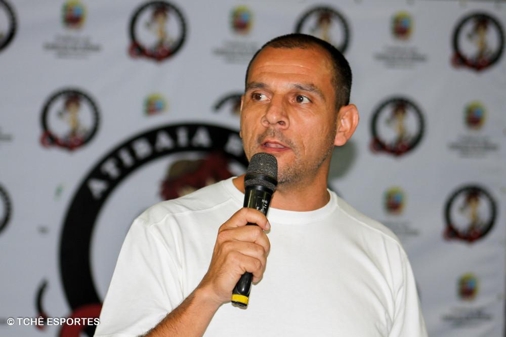 Ronaldo Bueno Pinto, idealizador do Atibaia Handball Cup. (foto André Pereira / Tchê Esportes)