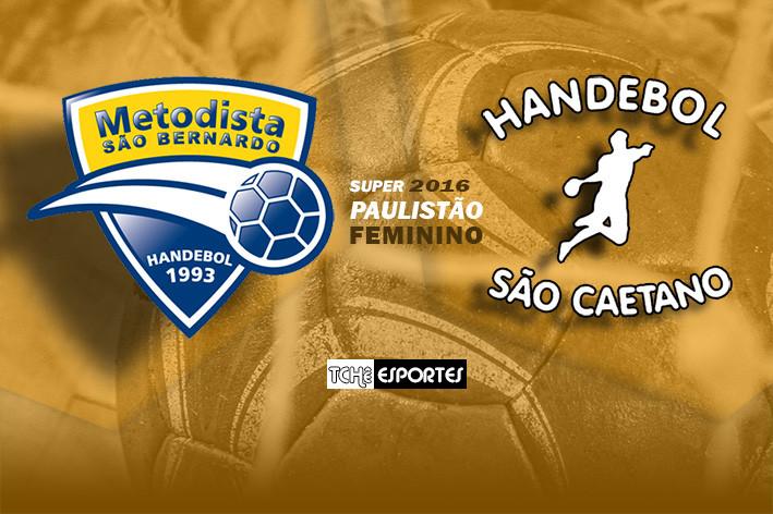 Metodista vs São Caetano  (arte Tchê Esportes)