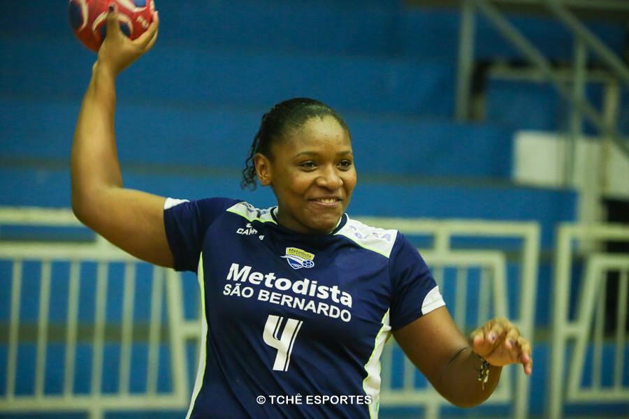 Mariane Fernandes, da Metodista (foto arquivo Tchê Esportes)