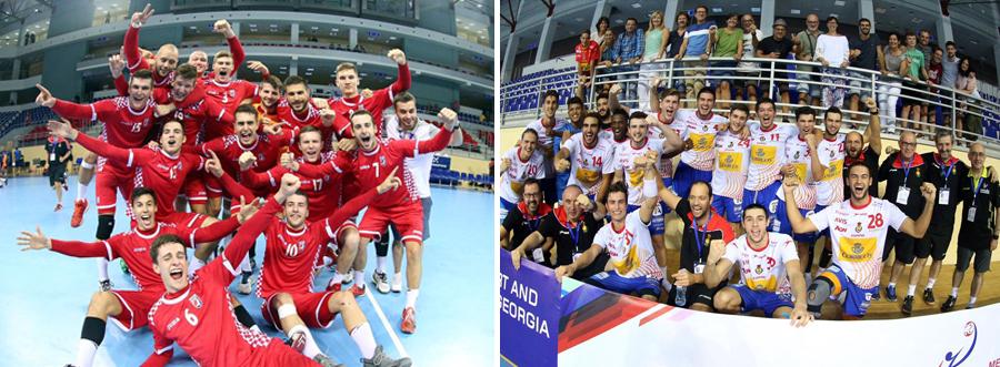 Semifinal 1 |Croácia vs Espanha (foto divulgação IHF)