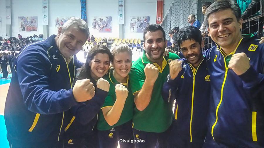 Comissão Técnica do Brasil. (foto Divulgação)
