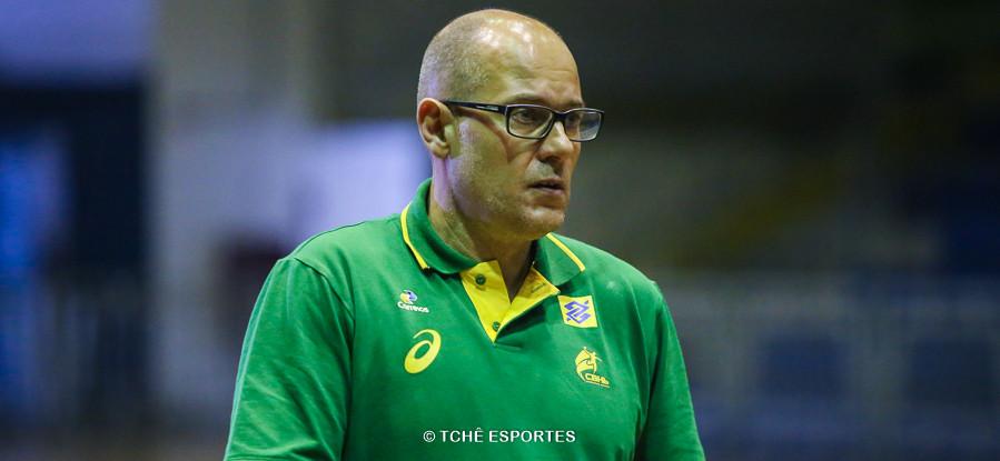 Morten Soubak, técnico da Seleção Brasileira Feminina de Handebol. (foto arquivo Tchê Esportes)