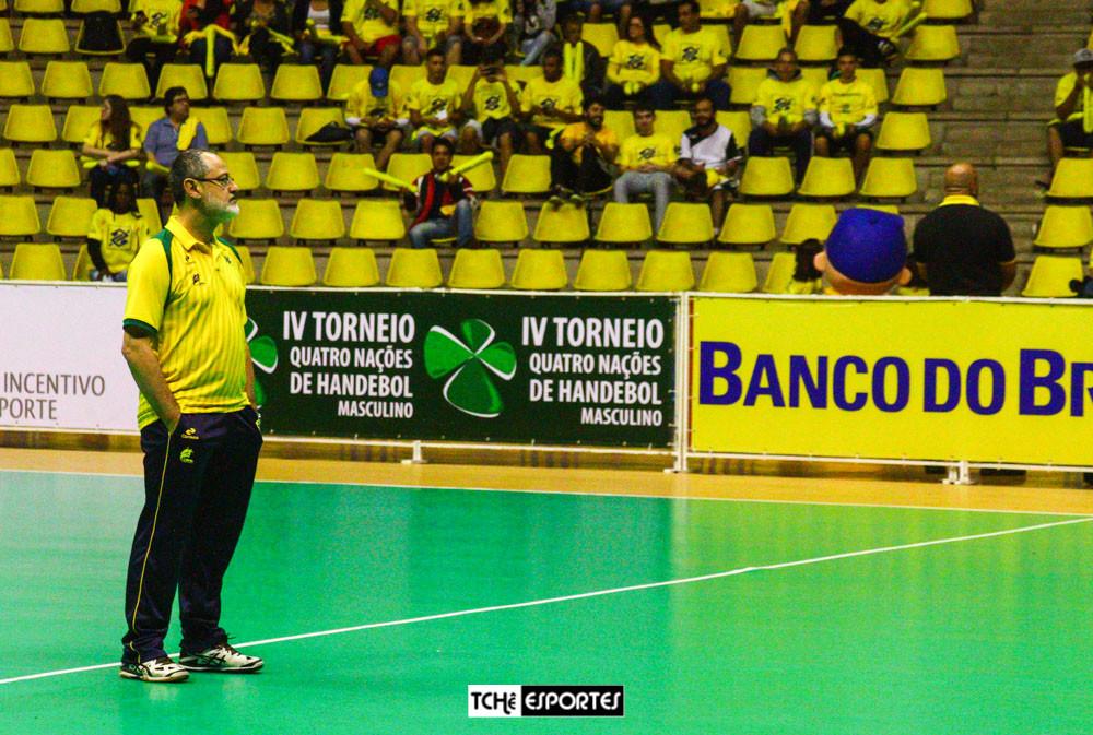 Washington Nunes, técnico da Seleção Brasileira Masculina de Handebol. (arquivo Tchê Esportes)