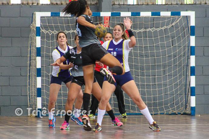 Ataque de ACH (foto André Pereira/Tchê Esportes)