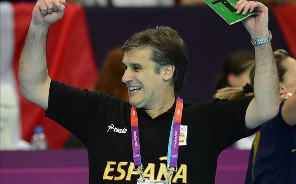 Jorge Dueñas vai comandar a Seleção Feminina de Handebol. (foto sport)