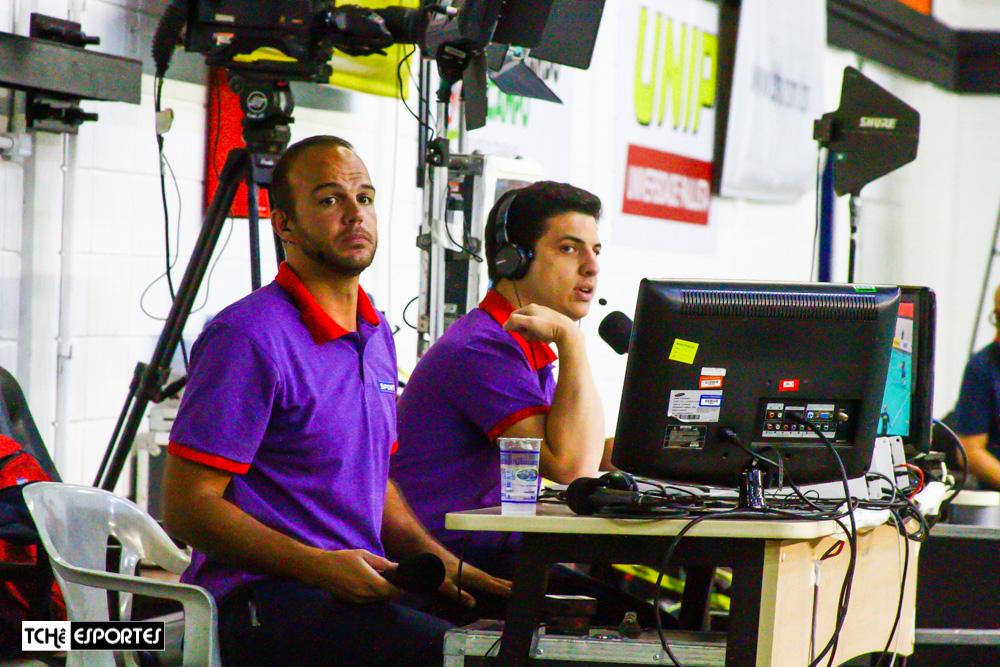 Equipe transmissão Sportv