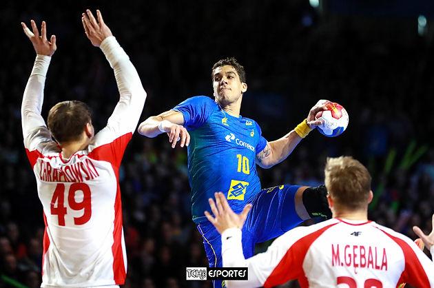 Brasil arruma o time no Mundial de Handebol e vence a Polônia  839d6a7efc65b