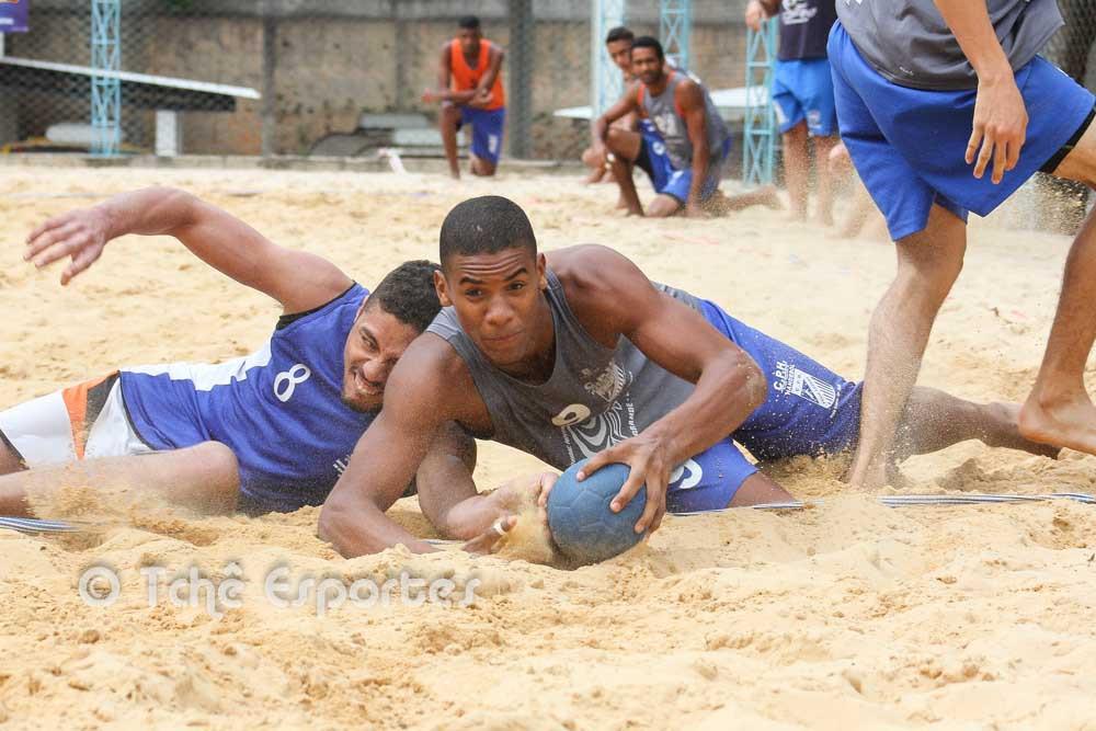 """CPH Praia Grande leva a melhor na """"revanche"""". (foto André Pereira / Tchê Esportes)"""