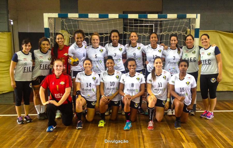 Equipe da Associação Campineira de Handebol - ACH. (foto Divulgação ACH)
