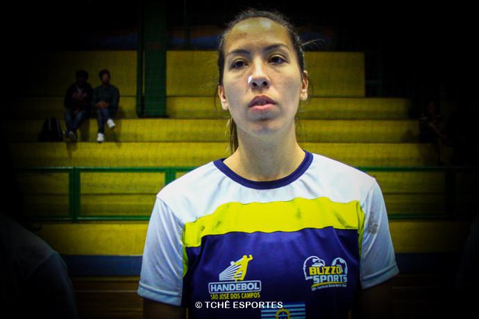 Daiana Clark, do São José. (foto arquivo Tchê Esportes)