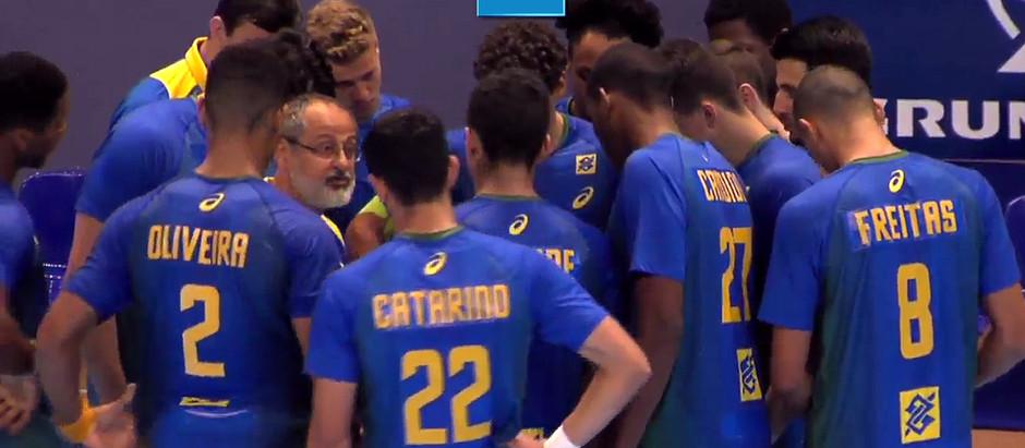Seleção Brasileira perde para a Sérvia e agora briga pela 19ª colocação no Mundial Juvenil