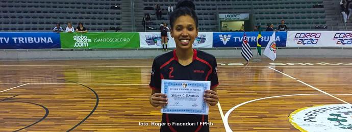 Bruna Caroline, do Guarulhos. (foto Rogério Fiacadori / FPHb)