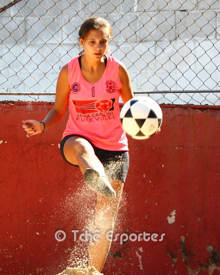 Juliana Zeratti, organizadora e atleta. (foto André Pereira )