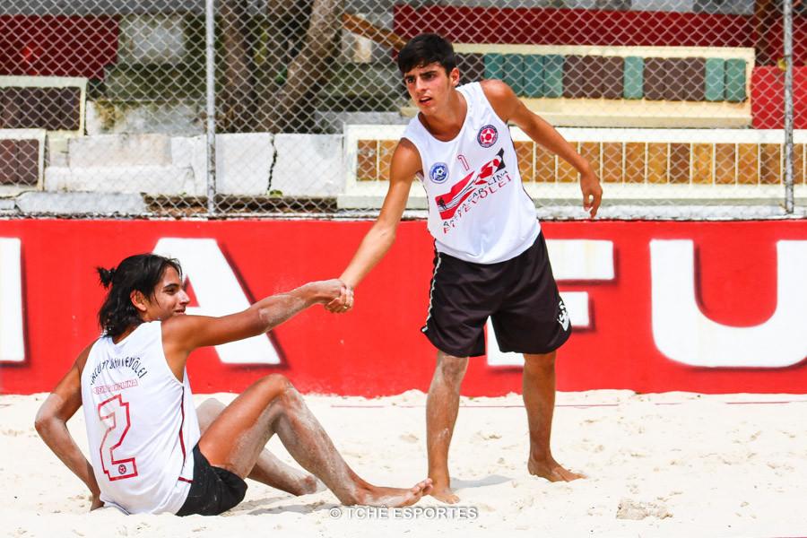 Gabiru e Rodrigo, essa dupla promete. (foto André Pereira / Tchê Esportes)