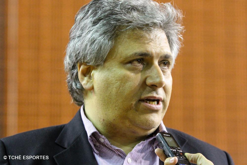 Celso Gabriel, presidente da FPHb. (foto André Pereira / Tchê Esportes)