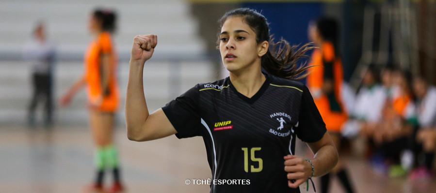 Ana Luiza Borba, de São Caetano. (foto André Pereira / Tchê Esportes)