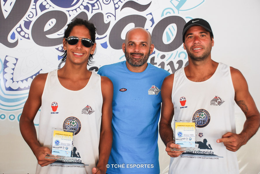 Gabiru, Gilberto Diniz e Reinaldo. (foto André Pereira /Tchê Esportes)