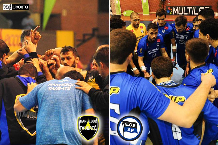 Taubaté vs Villa Ballester e Pinheiros vs Colegio Alemán - Pan de Clubes 2017. (foto Divulgação Femebal)