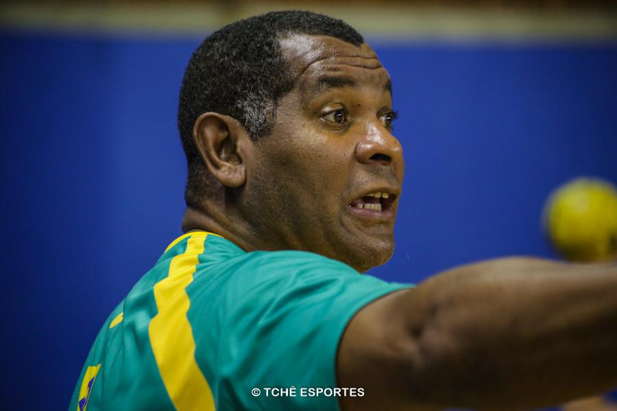 """Daniel """"Cubano"""", técnico da Seleção Junior. (foto arquivo Tchê Esportes)"""